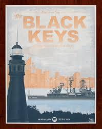 the black keys u2013 buffalo ny 2013 u201d by hero design studio 411posters