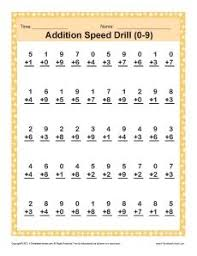 1 minute math addition arithmetic math and 1st grades