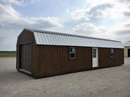 10x20 Garage Lofted Barn Storage Sheds Portable Cabins Portable Garages For