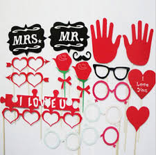 photobooth for wedding online shop free shipping 18 pcs lot flowers photo booth props