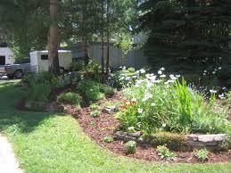 Backyard Corner Landscaping Ideas by Front Yard Berms Portfolio Of Brighton And Broomfield Colorado