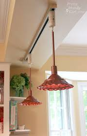 Copper Pendant Lights How To Make Farmhouse Style Metal Pendant Light Pretty Handy Girl