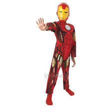halloween iron man costume kids iron man marvel avengers assemble superhero boys girls fancy