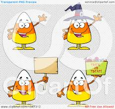 halloween clip art with transparent background clipart of cartoon halloween candy corn characters 2 royalty