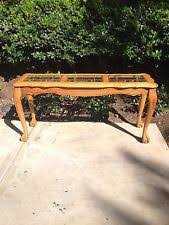 oak sofa tables oak sofa table ebay