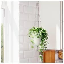 White Wall Planter by Skurar Hanging Planter Ikea