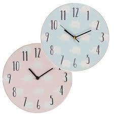 horloge chambre bébé petit cheri design éléphant mdf chambre à coucher 17cm horloge