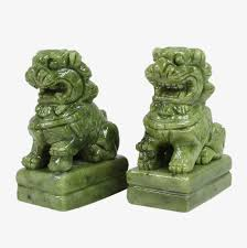 jade lion statue jade lion sculpture jade carving sculpture lion png image and