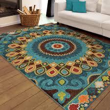 7 x 10 area rug bright multi colored area rugs