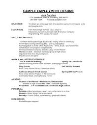 employment resume template usa sle resume resume volunteer experience usa