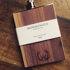 Wooden Flasks Stainless Steel U0026 Wood Flask Made In America U2013 William Rogue U0026 Co