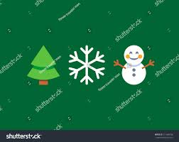 abstract flat style snowman stock vector 511648708