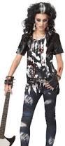 Gothic Halloween Costumes Girls Girls Punk Goth Zombie Rockstar Tween Halloween Costume Ebay
