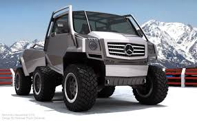 concept off road truck mercedes benz hexawheel concept the tech journal