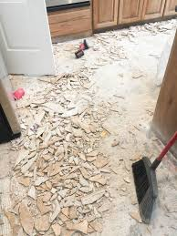 replacing kitchen floor without removing cabinets how to remove tile flooring yourself with tips and tricks all