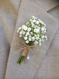 baby s breath flowers rustic boutonniere baby s breath boutonnieres mens
