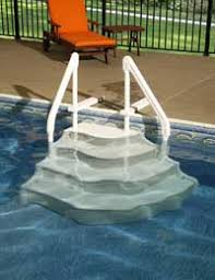 wedding cake pool steps above ground swimming pool steps and ladders