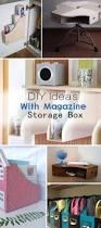 diy ideas with magazine storage hative