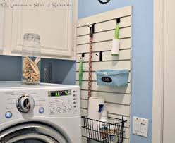 Laundry Room Wall Storage Organized Laundry Room