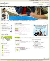 web etu lyon 2 bureau virtuel espace environnement numérique de travail ent et projet encora