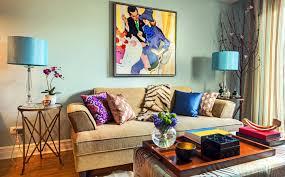 retro livingroom interior design portfolio retro living room design