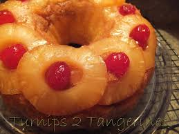 pineapple upside down bundt cake turnips 2 tangerines