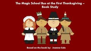 the magic school at the thanksgiving book study tpt