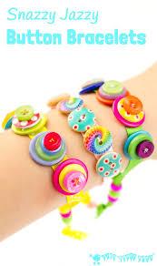 snazzy jazzy button bracelets button bracelet sewing projects
