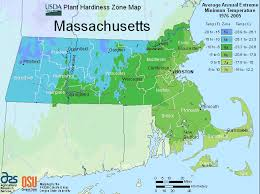 Massachusetts vegetaion images Massachusetts zone map for hardiness and planting gif