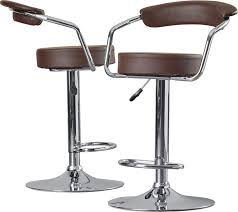 Bar Stool With Back And Arms Modern Barstools Counter Stools Allmodern