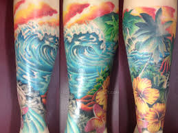 wave tattoo surfers paradise by adamrose on deviantart