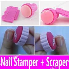 aliexpress com buy nail art stamping stamper scraper set polish