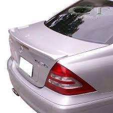 painted color mercedes benz w203 c class sedan lorinser type trunk