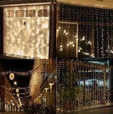 Led Light Curtains Christmas Led Christmas Lights Light Curtain Rain Curtains Up