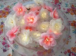 Rose Lights String by 20 Shabby Chic Flower Fairy Lights White And Bright Pink Rose