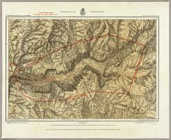 Yosemite Valley Map Topographical Map Of The Yosemite Valley And Vicinity David