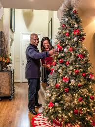 collection homes decorated for christmas on the inside pictures