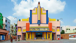these mid century cinemas in south india have the best color