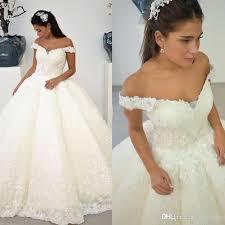 sle wedding dresses lace the shoulder wedding dress ostinter info
