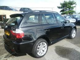 bmw x3 m sport black used bmw x3 car 2006 black diesel 2 0d m sport 5 door 4x4 for sale