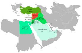 Middle East Maps by File Syrian Refugees In The Middle East Map Svg Wikimedia Commons