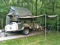Camping Trailer Awnings Foxwing Awning And Full Enclosure On M416 Page 2 Expedition Portal