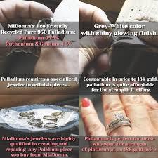 palladium ring price palladium vs platinum affordable luxury at miadonna palladium