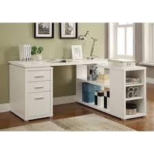 Computer Desk With Filing Cabinet Coaster Yvette Collection L Shaped Reversible Desk Multiple