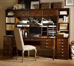 Desk Hutch Bookcase Printer U0027s Bookcase Hutch Pottery Barn