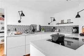 credence cuisine carreau ciment cuisine carreaux de ciment 5 d233co carrelage aspect