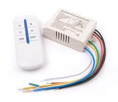 remote control on off light switch wireless 4 channels on off 220v remote control switch digital remote