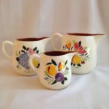 stangl pottery fruit and flowers 3 stangl pottery fruit and flowers pitchers 39 00 picclick