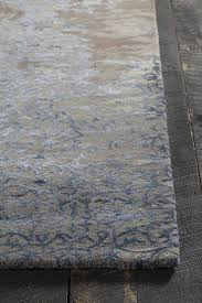 Grey And Tan Rug Rupec Collection Hand Tufted Area Rug In Grey Blue U0026 Brown
