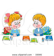 child sitting clipart clipart children talking with each other clipground